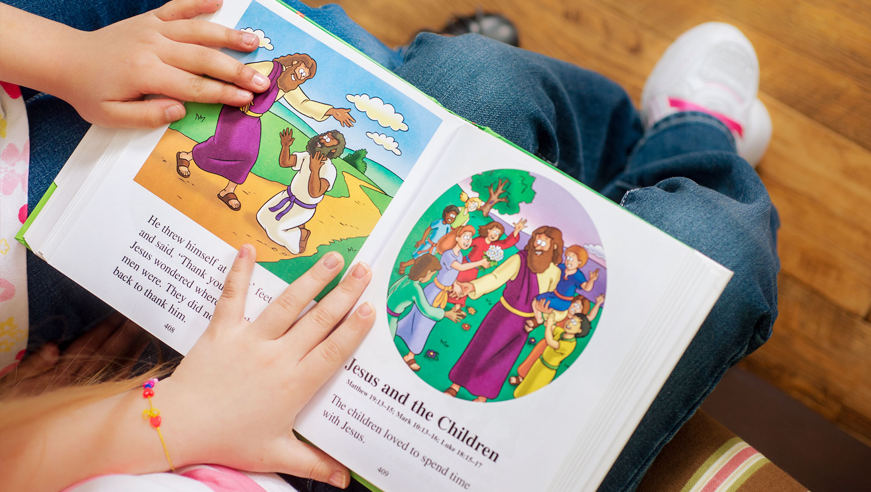 4 Bible Stories to Teach Your Kids About Gentleness & Self-Control